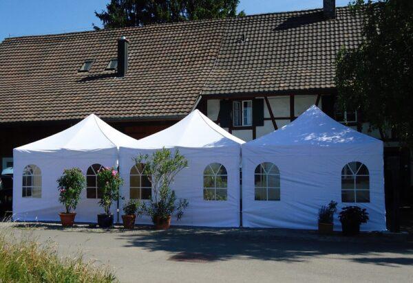 Ausstellungs Zelte weiss