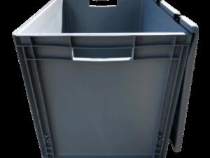 Box mit Deckel für Zelttücher Faltzelte