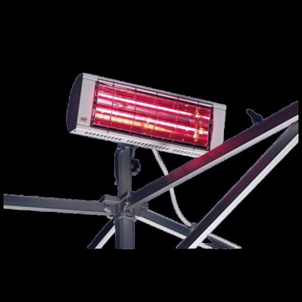 Wärmestrahler für Faltzelte Innenraum